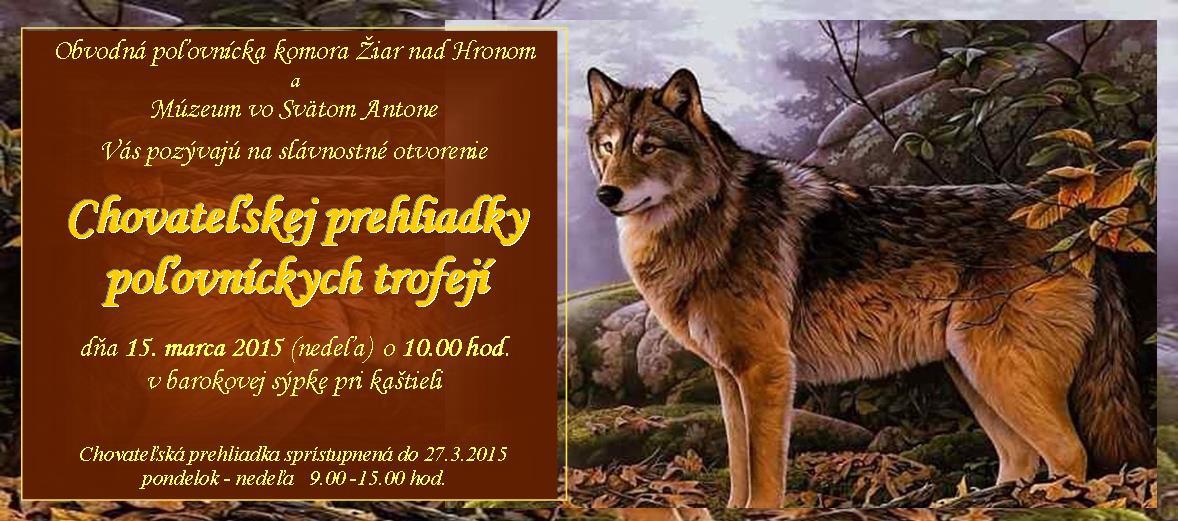Pozvánka CHPT 20142015 OPK Žiar nad Hronom